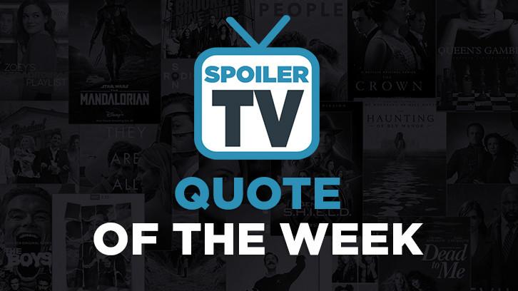 Quote of the Week - Weeks of August 29 - September 5