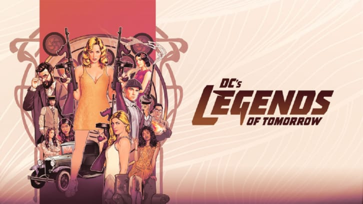 Legends of Tomorrow - Episode 7.01 - The Bullet Blondes - Press Release