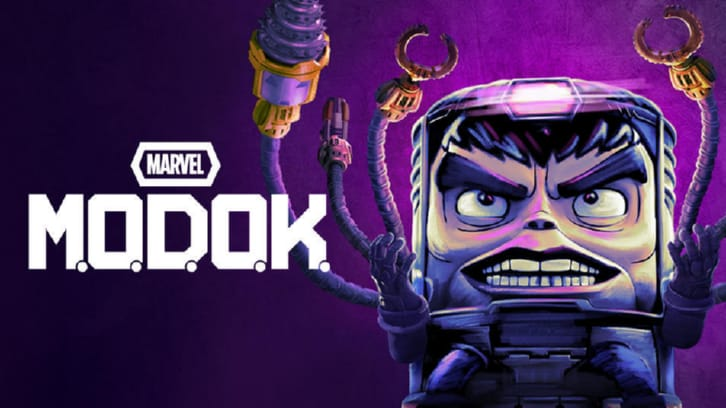 M.O.D.O.K. -  First Look Promo, 2 Sneak Peeks,  Promotional Photos + Date Announcement