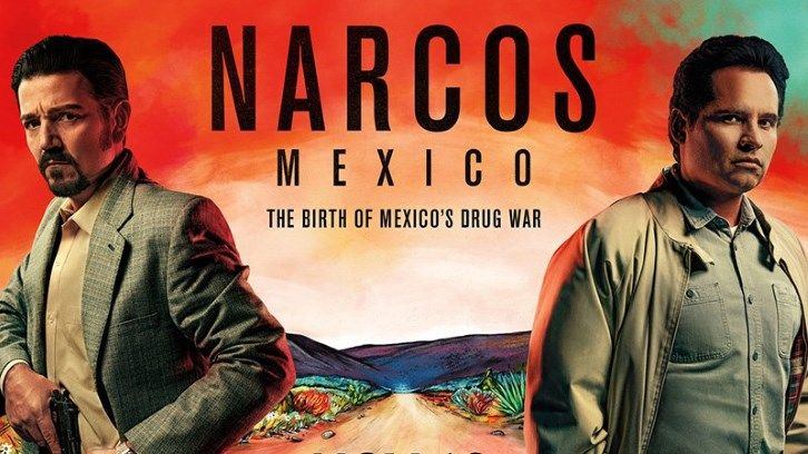 Narcos Mexico - Final Season - First Look Promotional Photos + Premiere Date Announcement Promo