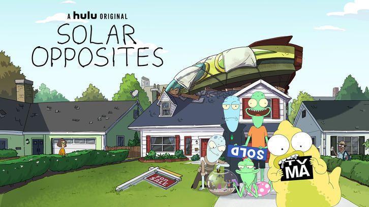 Solar Opposites - Renewed for 4th Season