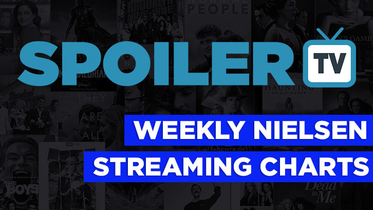 Weekly Nielsen Streaming Charts *Updated 15th April 2021 - Grey's Anatomy and Criminal Minds Top The Charts*